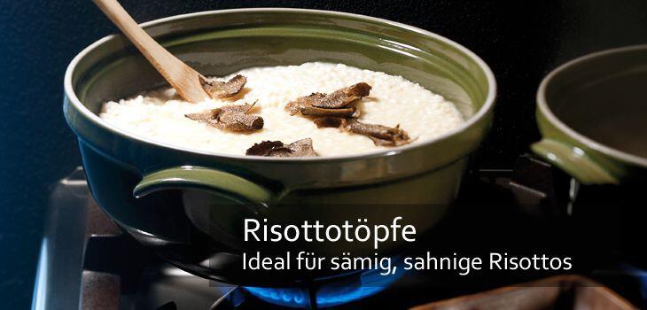 Risottotöpfe - Ideal für sämig, sahnige Risottos