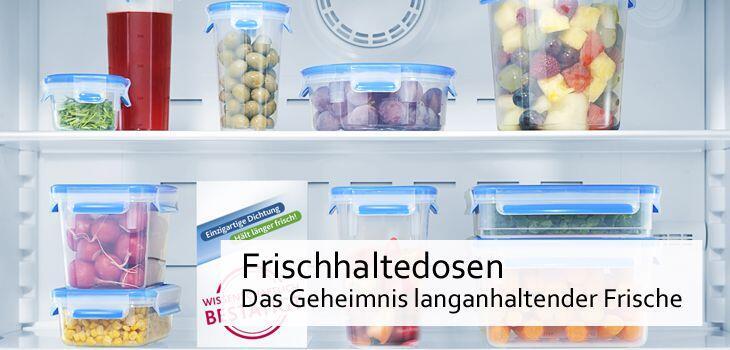 Frischhaltedosen aus Kunststoff - Das Geheimnis langanhaltender Frische