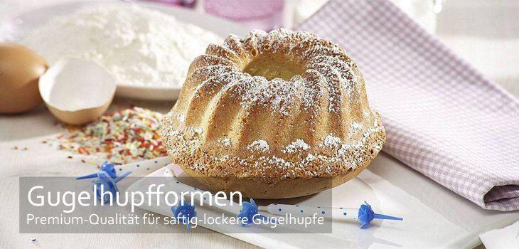 Gugelhupfformen in Premium-Qualität: Für saftig-lockere Gugelhupfe