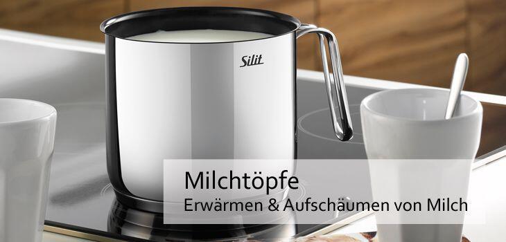 Milchtöpfe - ideal zum Erwärmen und Aufschäumen von Milch