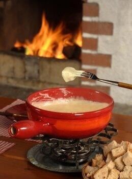 Käsefondue - Die schweizer Art des Fonduegenusses