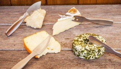 Käsemesser - das richtige Messer für jeden Käsesorte