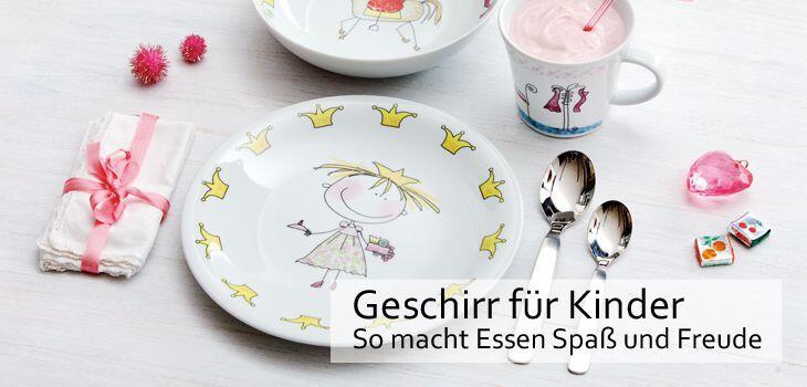 Geschirr für Kinder - So macht Essen Spaß und Freude