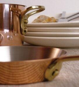 Kupferpfannen - beste Wärmeleitung für punktgenaues Braten