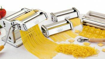 Hausgemachte Pasta mit der Marcato Nudelmaschine - original Made in Italy