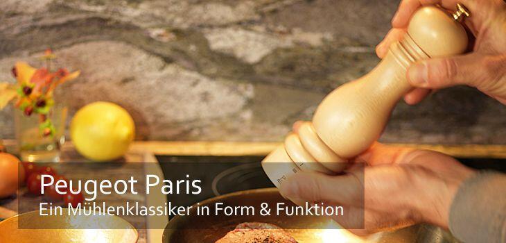 Peugeot Paris - Ein Mühlenklassiker in Form & Funktion