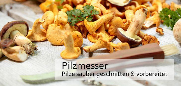 Pilzmesser - Pilze sauber geschnitten & vorbereitet