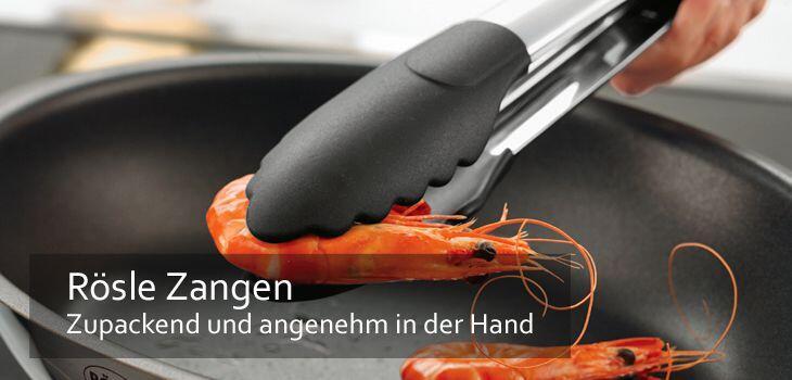 Rösle Zangen - Zupackend und besonders angenehm in der Hand
