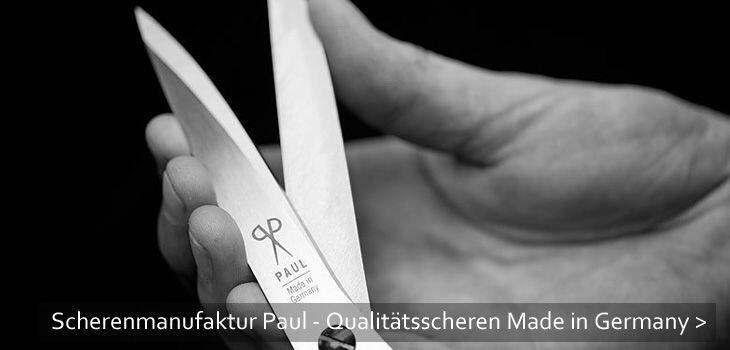 Scherenmanufaktur Paul - Qualitätsscheren Made in Germany