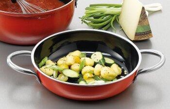 Servierpfannen - vom Herd oder Ofen direkt auf den Tisch