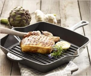 Grillpfannen von Staub - Knusprig & fettarm braten