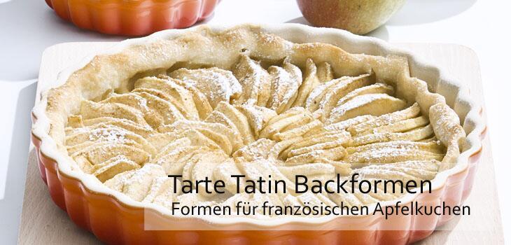 Tarte Tatin - Exzellente Backformen für den französischen Apelkuchen-Klassiker