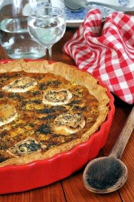 Ab in den Ofen: Quiche, Tarte, Flammkuchen & Wähe