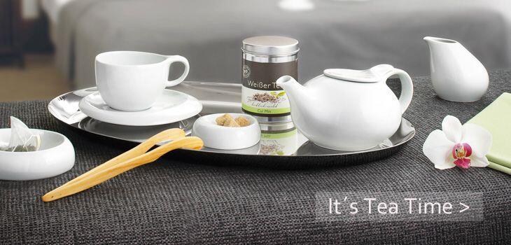 It´s Tea Time - mit den exklusiven Teekannen von KochForm