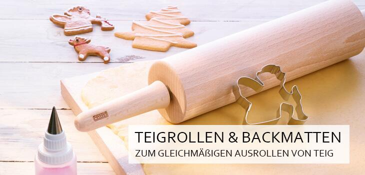 Teigrollen & Backmatten - Ideal zum gleichmäßigen Ausrollen aller Teigarten
