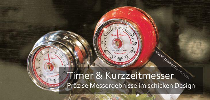 Timer & Kurzzeitmesser - Präzise Messergebnisse im schicken Design