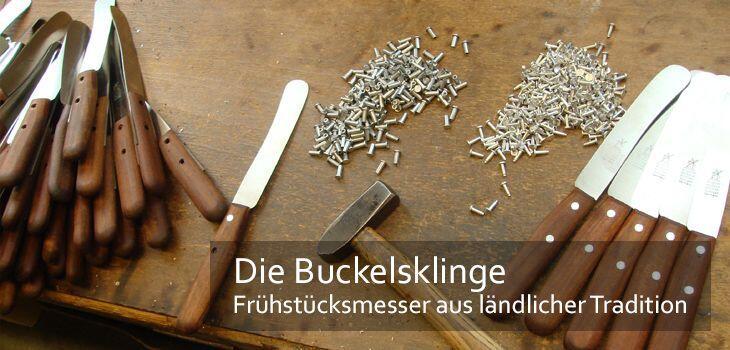 Die Buckelsklinge - Frühstücksmesser aus ländlicher Tradition