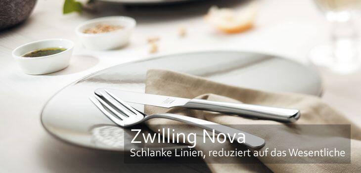 Zwilling Besteckserie Nova - Schlanke Linienführung & reduziert auf das Wesentliche