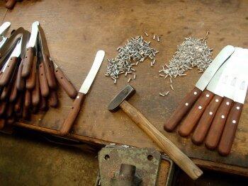 Windmühlenmesser - Gute Messer sind von Hand gemacht