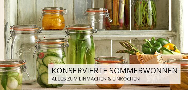 Konservierte Sommerwonnen - Alles zum Einmachen & Einkochen