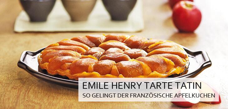Emile Henry Tarte Tatin - So gelingt der französische Apfelkuchen