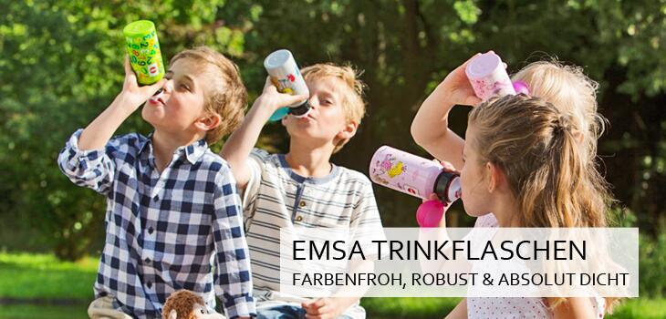 Emsa Trinkflaschen - Farbenfroh, robust und absolut dicht