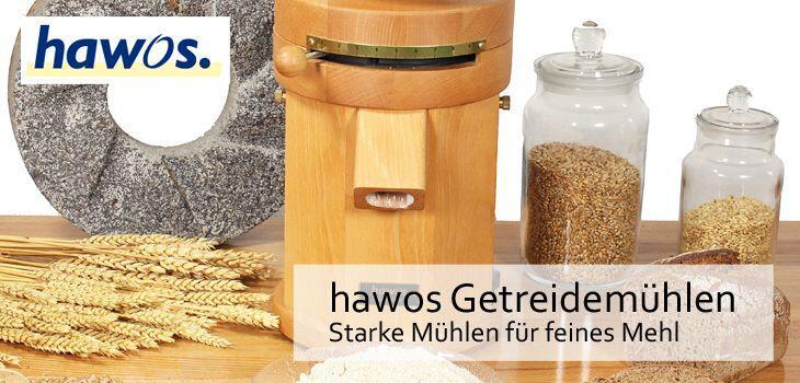 hawos Getreidemühlen - Starke Mühlen für feines Mehl