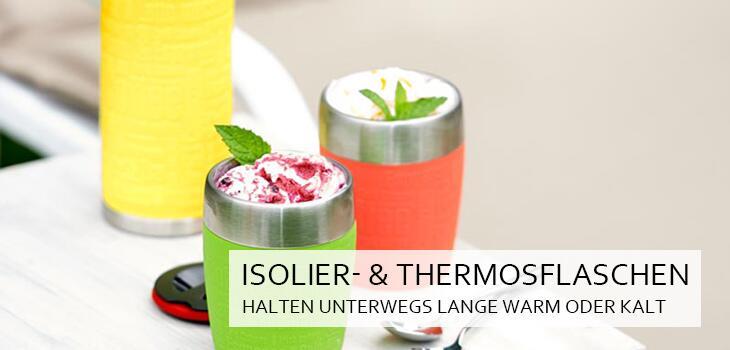 Isolier- & Thermosflaschen - Halten unterwegs lange warm oder kalt