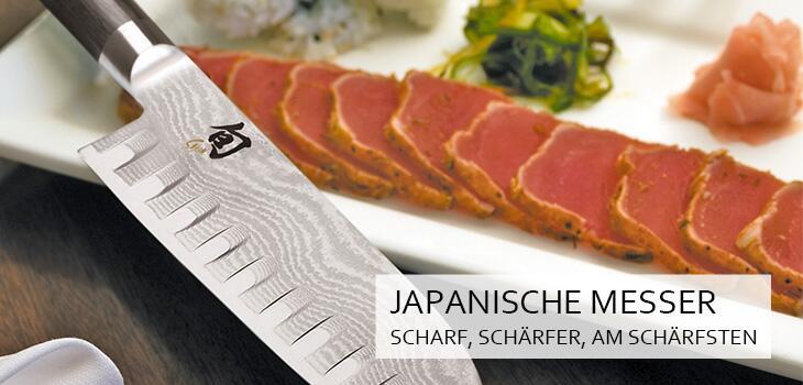 Japanische Messer - scharf, schärfer, am schärfsten