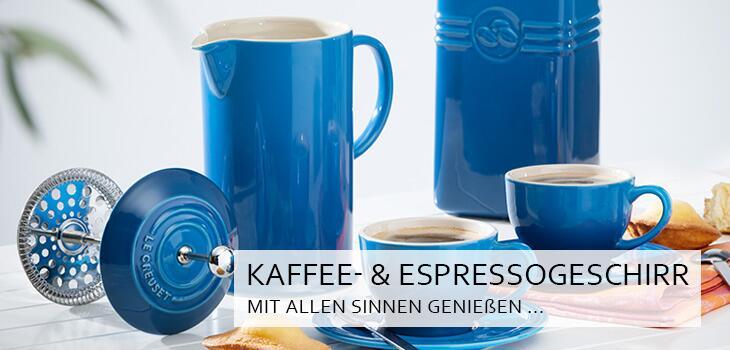 Kaffee- & Espresso-Geschirr - Kaffeegenuss für Augen & Gaumen
