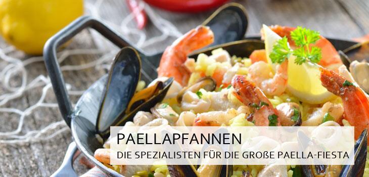 Paellapfannen - Spezialisten für die große Paella-Fiesta
