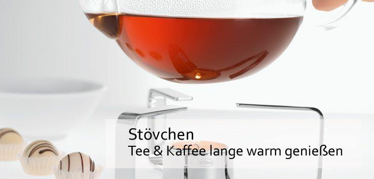 Stövchen - Tee & Kaffee lange warm genießen