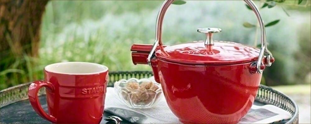 Staub Teekannen