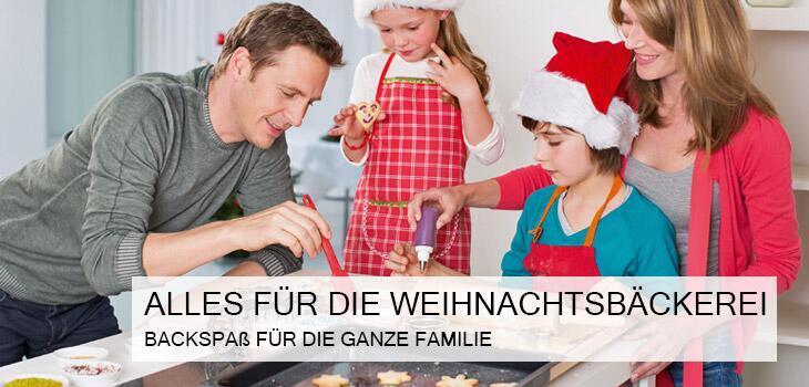 Alles für die Weihnachtsbäckerei - Backspaß für die ganze Familie