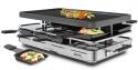 Spring Raclette8 mit Alu-Grillplatte in Edelstahl