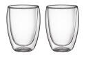Cilio doppelwandige Milchkaffee-Gläser, 2er-Set