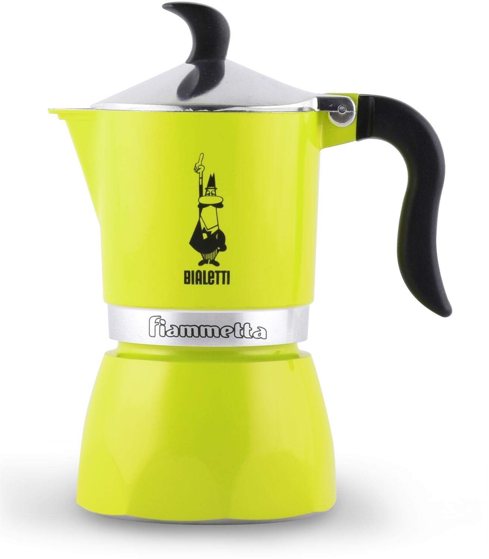 Bialetti Espressokocher Fiammetta Electric Lime