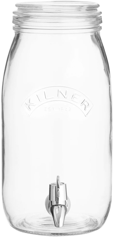 Kilner Getränkespender Einmachglas, 3 Liter