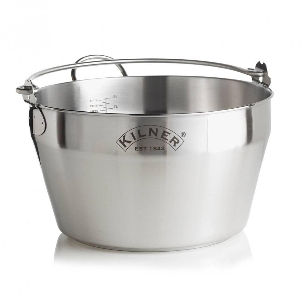 Kilner Einkochtopf aus Edelstahl, 8 L