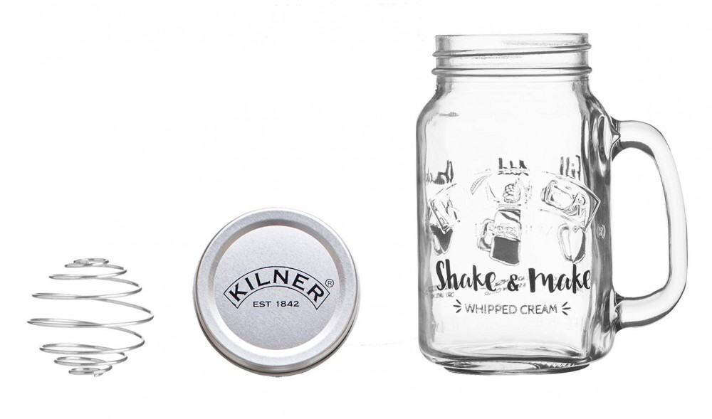 Kilner Shake & Make Schlagsahne-Zubereiter