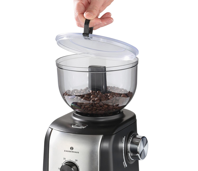 Zassenhaus Elektrische Kaffeemuhle Arabica Kochform