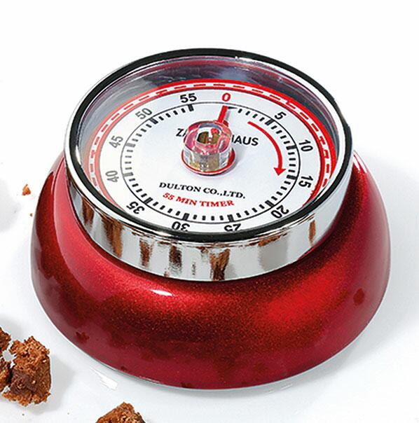 Zassenhaus Timer Speed in rot metallic