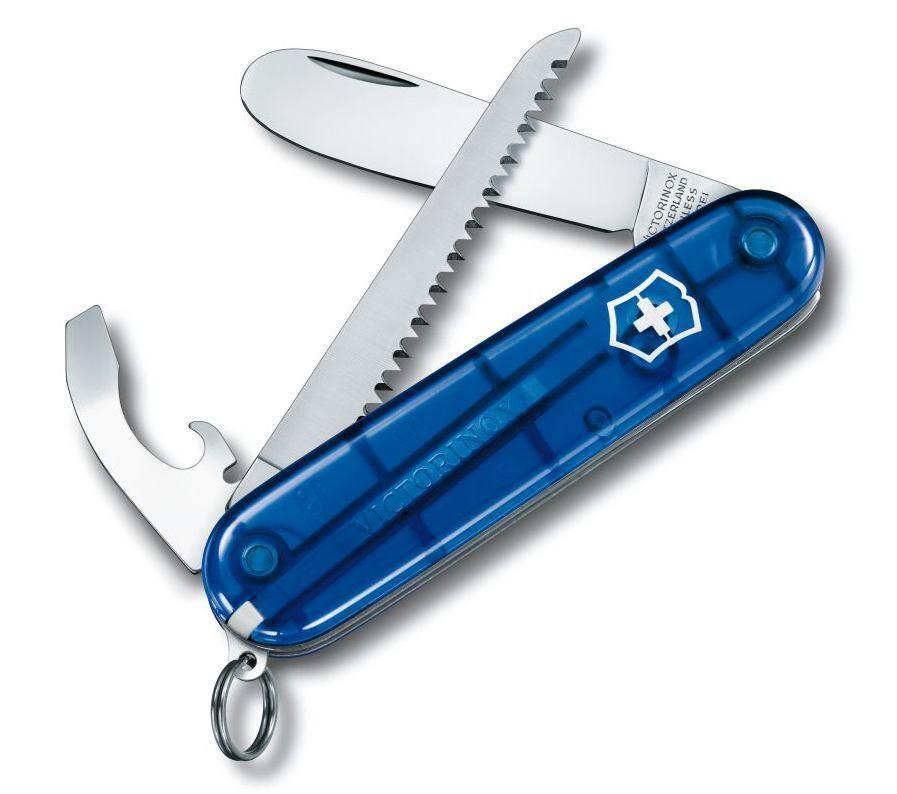 Victorinox Offiziersmesser My First Victorinox blau mit 9 Funktionen