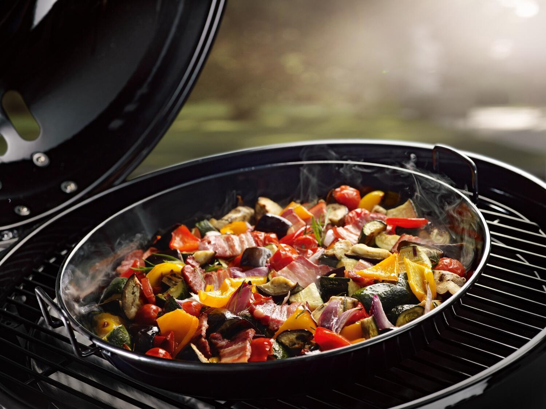 Outdoorchef Gourmetset M für 480/ 570 Gaskugelgrill, bestehend aus Backblech und