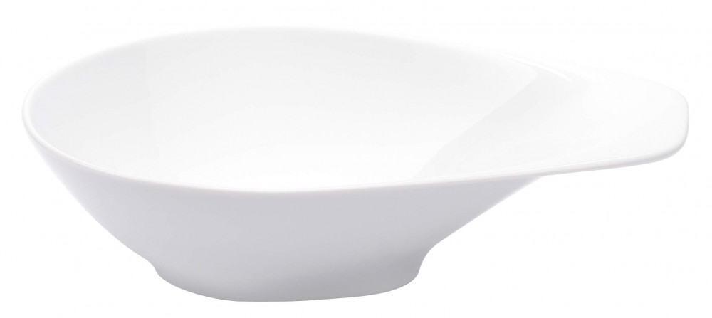 Kahla Elixyr Schale mit Griff, 0,60 l in weiß