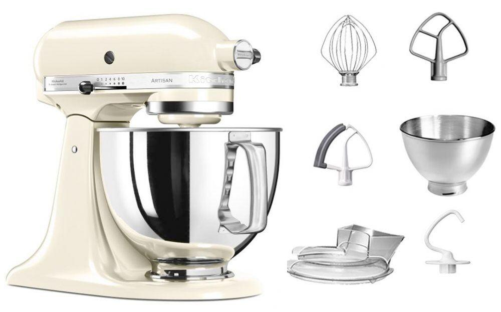 KitchenAid Küchenmaschine ARTISAN 175PS in creme, 4,8 L