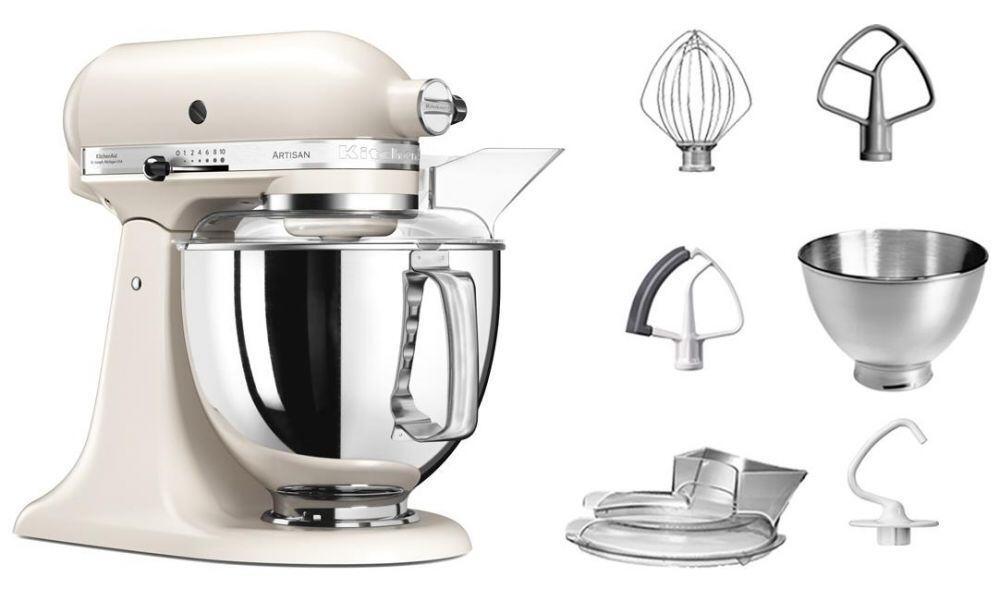 KitchenAid Küchenmaschine ARTISAN 175PS in baiser, 4,8 L
