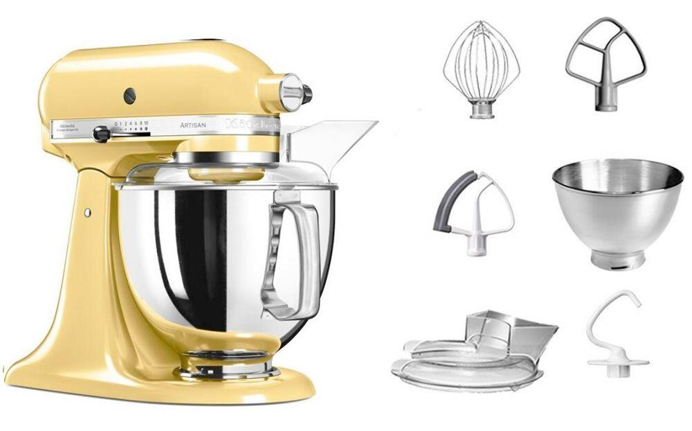 KitchenAid Küchenmaschine ARTISAN 175PS in pastellgelb, 4,8 L