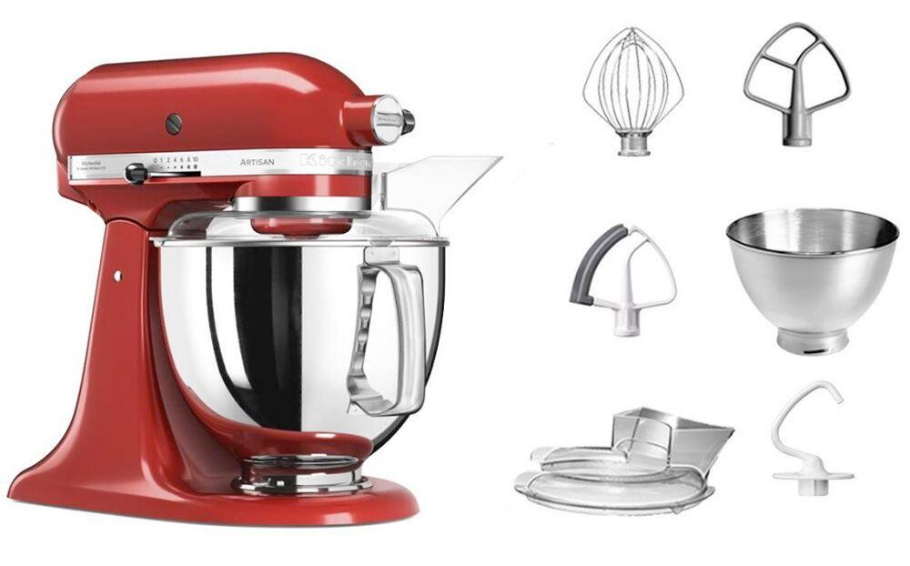 KitchenAid Küchenmaschine ARTISAN 175PS in empire rot, 4,8 L