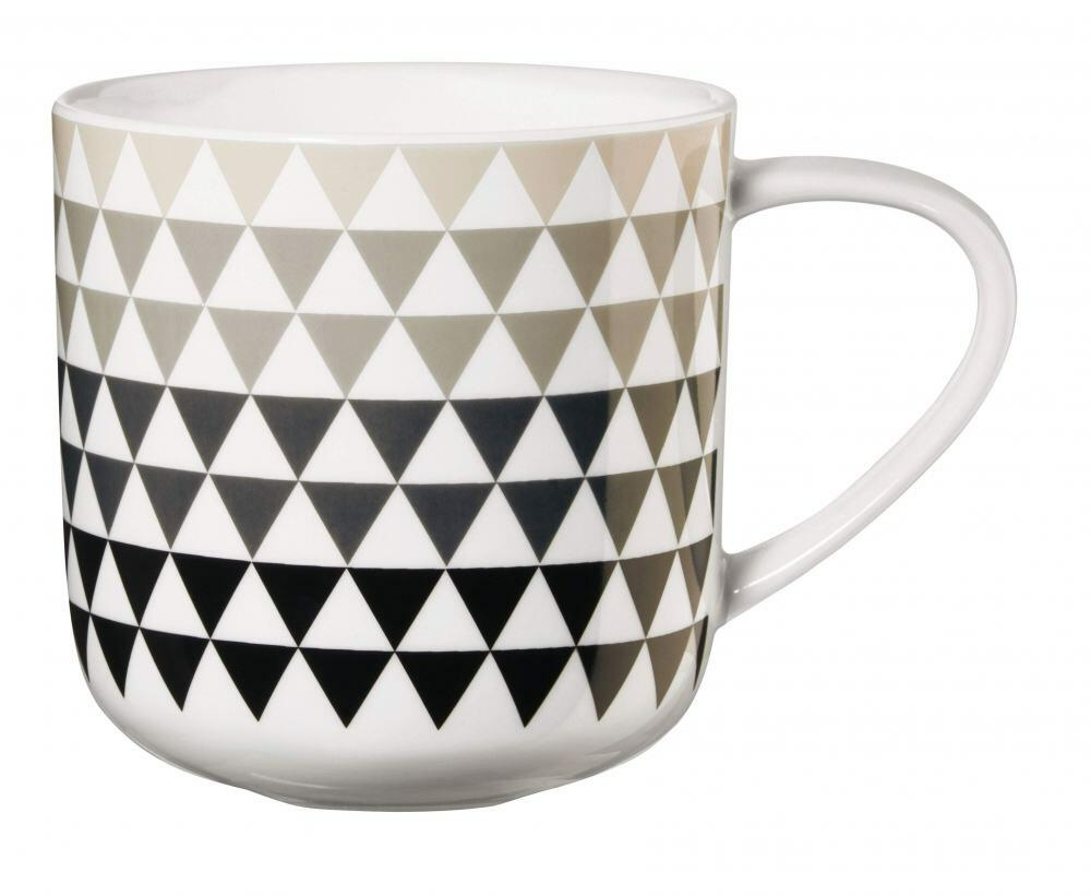 ASA Henkelbecher Coppa, triangle grau/schwarz